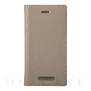 "【iPhoneSE(第2世代)/8/7/6s/6 ケース】""EURO Passione"" PU Leather Book Case (Taupe)"