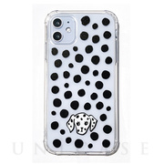 【iPhone11 ケース】FLAIR CASE & CASE (DOT DALMATIAN)