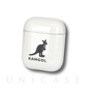 【AirPods ケース】KANGOL AirPods クリアケース (ロゴ)