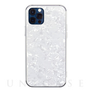 【iPhone12/12 Pro ケース】Glass Shell Case for iPhone12/12 Pro (white)