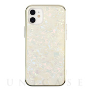 【iPhone12 mini ケース】Glass Shell Case for iPhone12 mini (gold)