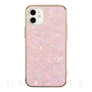 【iPhone12 mini ケース】Glass Shell Case for iPhone12 mini (pink)