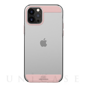 【iPhone12 Pro Max ケース】Innocence Case Clear (Rose Gold)