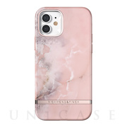 【iPhone12/12 Pro ケース】Freedom Case (Pink Marble)