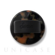 Universal SILICON SLIDE RINGS (BROWN TORTE/BLACK)