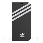【iPhone12 Pro Max ケース】Booklet Case SAMBA FW20 (White/Black)