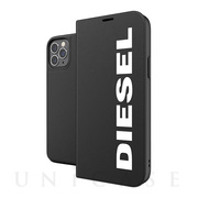 【iPhone12/12 Pro ケース】Booklet Case Core FW20 (Black/White)