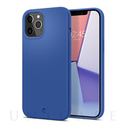 【iPhone12 Pro Max ケース】Silicone (Linen Blue)