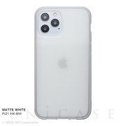 【iPhone12/12 Pro ケース】HEXAGON (MATTE WHITE)