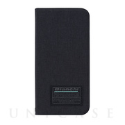 【iPhone12/12 Pro ケース】Bianchi Water Repellent Folio Case for iPhone12/12 Pro (black)