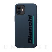 【iPhone12 mini ケース】Bianchi Hybrid Shockproof Case for iPhone12 mini (steel black)