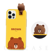 【iPhone12 Pro Max ケース】Figure BASIC COLOR SOFT (SNEAK PEEK BROWN)