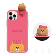 【iPhone12 Pro Max ケース】Figure BASIC COLOR SOFT (SNEAK PEEK CHOCO)