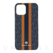 【iPhone12 mini ケース】SLIM WRAP CASE STRIPE (Admiral)