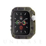 【AppleWatch SE/Series6/5/4/3/2/1(40/38mm) ケース】抗菌バンパー Protector Bumper (Camo Green)
