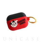 【AirPods Pro ケース】MICKEY MOUSE AirPods Pro SILICONE CASE (RD)