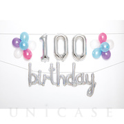 WALL DECO BALLOON for 100 BD (hologram)