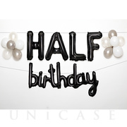 WALL DECO BALLOON for HALF BD (black)