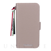 "【iPhone12/12 Pro ケース】""シュリンク"" PU Leather Book Type Case (グレー)"
