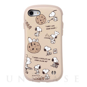 【iPhoneSE(第2世代)/8/7 ケース】PEANUTS iFace First Class Cafeケース (チョコチップクッキー)