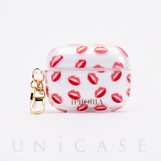 【AirPods Pro ケース】Key Chain Airpods Pro Case (Lips Print)