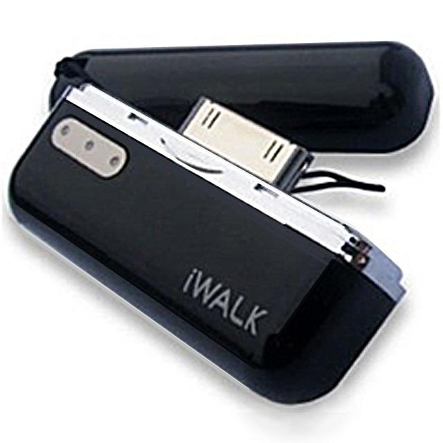 iWALK モバイルバッテリー for iPhone&iPod (ブラック)