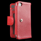 【iPhone4S/4】Sena WalletBook Case for the iPhone 4 - Red