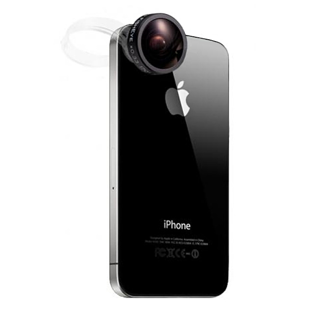 CLIP SHOT for mobile FISHEYE(魚眼) BLACK
