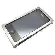 【iPhone4S/4 ケース】Applering Aluminum Case for iPhone4 (Silver)