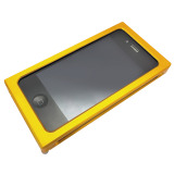 【iPhone4S/4 ケース】Applering Aluminum Case for iPhone4 (Gold)