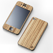 【iPhone4S/4 ケース】CLEAVE WOODEN PLATE for iPhone4 ゼブラ