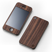 【iPhone4S/4 ケース】CLEAVE WOODEN PLATE for iPhone4 ローズウッド