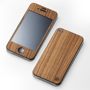 【iPhone4S/4 ケース】CLEAVE WOODEN PLATE for iPhone4 チーク