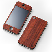 【iPhone4S/4 ケース】CLEAVE WOODEN PLATE for iPhone4 カリン