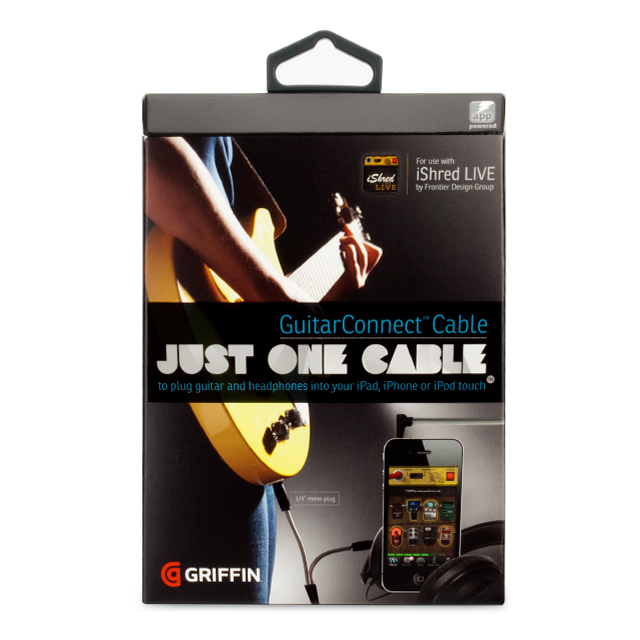 GuitarConnect Cable for iPhone, iPod, and iPadサブ画像