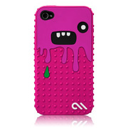 iPhone 4S/4 Creatures: Monsta Case, Pink/Purple