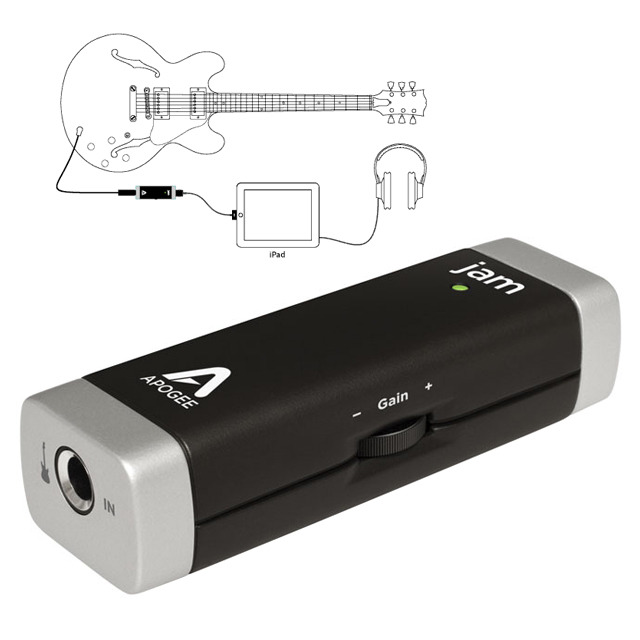JAM ギターインプット for iPad、iPhone、Mac