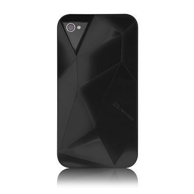iPhone 4S/4 Facets Case Black