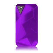 iPhone 4S/4 Facets Case Purple