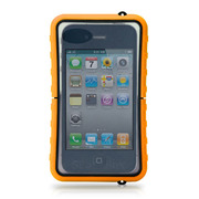 【iPhone4S/4 ケース】Krusell SEaLABox WATERPROOF for iPhone オレンジ