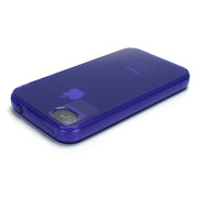 iPhone4用ソフトケース Dustproof GEL cover for iPhone4 パープル