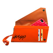 Lady Gaga ~ Fever ~ Universal Clutch Case Fever in Orange