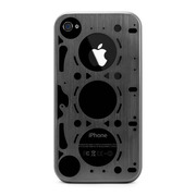 【iPhone4S/4 ケース】GASKET GRAY