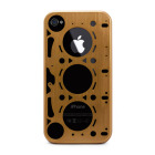 【iPhone4S/4 ケース】GASKET GOLD