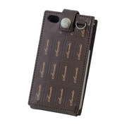 "【iPhone4S/4ケース】SweetsCase for iPhone4S/4 ""Chocolate""(brown)"