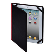 【iPad(第3世代/第4世代) iPad2 ケース】MacGizmo iCross Black/Red