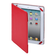【iPad(第3世代/第4世代) iPad2 ケース】MacGizmo iCross Red