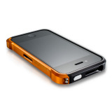 【iPhone4S/4】Vapor4 black/orange
