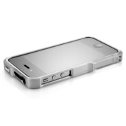 【iPhone4S/4】Vapor Pro Spectra Silver/Silver w/Clear