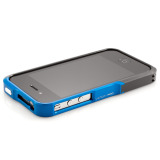 【iPhone4S/4】Vapor Pro Spectra Blue/Black w/Black
